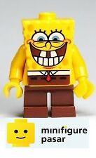 bob021 Lego 3833 - SpongeBob SquarePants Grin with Bottom Teeth Minifigure - New
