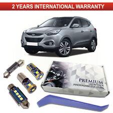 Hyundai IX35 LED Interior Kit Premium 7 SMD Bulbs White Error Free IX55 IX20
