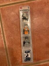 Lego Star Wars Mini Figure Exclusive Magnet 3pcs Set, At-st Pilt, Y-wing Pilot,