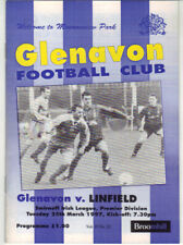 1996/97 Glenavon v Linfield - Irish League - 25th Mar - Vol 15 No 22