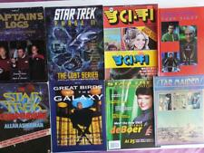 Star Trek/Maidens Lot of 9 Items, Books, Magazines, Diary, Annual