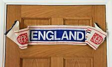 ⚽ Vintage 1960s ENGLAND INTERNATIONAL FOOTBALL SCARF Wembley, World Cup, Soccer