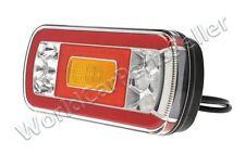 Universal LED Rear Lamp Tail Light 220x100x50,5mm Stop Turn Signal Fog FT-130 PM