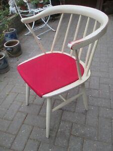 Armlehnstuhl Sprossenstuhl Tapiovaara Ära 50er 60er Vintage Design Mid Century