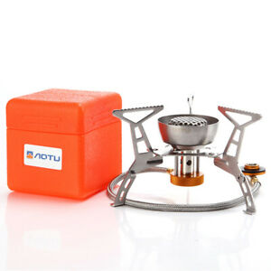 3500W Outdoor Windproof Camping Gas Stove Mini Portable Foldable Cooking Burner