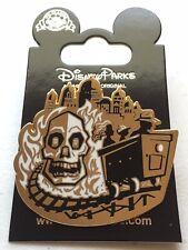 Disney Pin D23 Gold Member Indiana Jones Temple Of Doom DLR Pin. Indy Skull