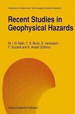 Recent Studies in Geophysical Hazards 3 (2012, Paperback)