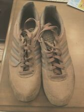 Vintage Adidas Gray Suede/Mesh Athletic Shoes Size 11.5M
