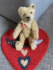 Early Rare Mohair Antique Steiff Bear 8� Long f Ff Button Look So Nice! No Res!