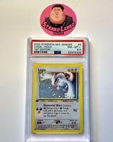 Pokémon 1st Edition Neo Genesis Lugia Holo 9/111  PSA 8.5 NM-MT+ Regrade????