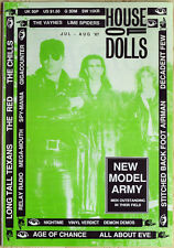 HOUSE OF DOLLS indie music mag 1987 New Model Army All About Eve Vaynes Chills +