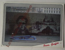 Carte postale Blek Paris graffiti   postcard