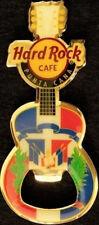 Hard Rock Cafe PUNTA CANA Country Flag GUITAR MAGNET Bottle OPENER Mint New