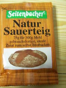 Sauerteig Roggen 2x75g Brot backen Seitenbacher  €1,13/100g