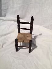 Doll or Teddy Bear Furniture Straight Back Chair