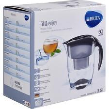 Brita Elemaris XL 3.5 L -Black- Wasserfilterkanne mit einem MAXTRA Wasserfilter