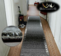 Very Thick Hall Runner SHADOW 8597 Width 80-120cm extra long Soft Densely RUGS