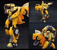 Bumblebee Autobot Transformer action figure toy model Yellow Beetle vehicle car