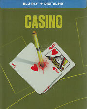 Casino (SteelBook) (Blu-ray + Digital HD) (Bil New Blu