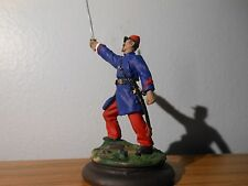 54mm Acw Rebel Zouave-Officer pewter kit by Time Machine-painted by seller