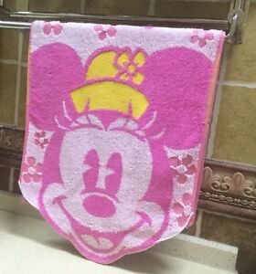 Disney Kids/Adult  PINK Minnie Wash Towel Hand Face Towel 100% Cotton 34*75cm