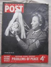 PICTURE POST - 21 MAY 1945 - THE GREATESTDAY IN THE LIFE OF A P.O.W.