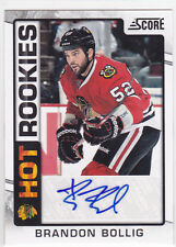 2012 12-13 Score Hot Rookie Autographs #515 Brandon Bollig