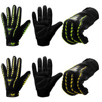 Thermal Motorbike Motorcycle Gloves All Weather High Visbility Windproof Cycling