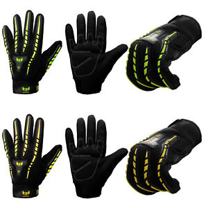 Motorbike Gloves High Visibility Full Finger Thermal Motorcycle Summer Winter