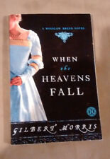 AS SPARKS FLY UPWARD, WHEN THE HEAVENS FALL By Gilbert Morris lot of 2