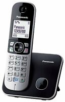 Panasonic KX-TG6811JTB Cordless DECT Telefono, Schermo LCD, Nero CONSEGNA VELOCE