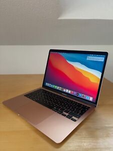 "Apple MacBook Air 2020 13,3"" Gold Vollausstattung neuwertig OVP Gewährleistung"