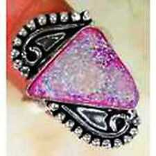 Handmade Druzy Costume Rings