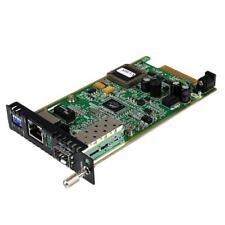 StarTech ET91000SFP2C Ethernet Fiber Media Converter Module with Open SFP Slot
