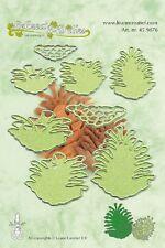 LeCrea Da taglio e Rilievo Fustella Stampo - PIGNE 3D - Leane 45.9876