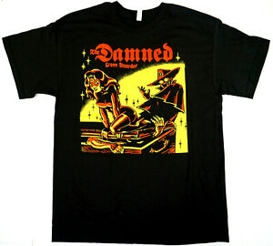 The DAMNED Grave Disorder T-shirt Punk Rock Tee Mens New