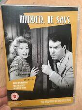Murder, He Says-Fred MacMurray Helen Walker(R2 DVD)1945 Hillbilly Black Comedy