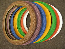 "20"" coloured BMX Tyres lots of different colors free inner tube with each tire"