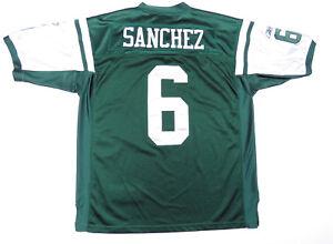 Mark Sanchez New York Jets Reebok On Field Football NFL Sewn #6 Green Jersey 52