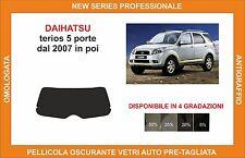 pellicola oscurante vetri dahiatsu terios 5p dal 2007 kit lunotto