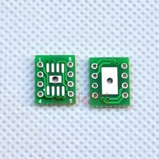 10 PCS SOP8 SO8 SOIC8 SMD to DIP8 Adapter PCB Board Convertor Double SidesYG