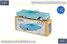 Ford Thunderbird 1960 Aquamarine NOREV - CL 2712 - Echelle 1/43 Métal Classique