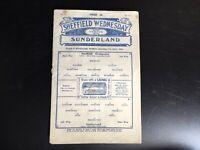 SHEFFIELD WEDNESDAY V SUNDERLAND 1933/34