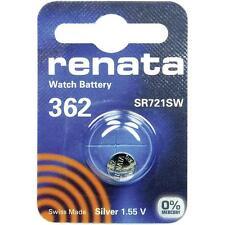 362 (sr721sw) Coin batteria Renata 1.55v/PER OROLOGI CHIAVI TORCE