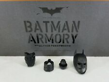 Genuine 1/6 Hot Toys MMS236 Batman Armory action figure cowl neck collar Peg l