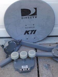 ONE DIRECT TV SATELLITE DISH KIT and 3 eyed LNB (LNBf) New Lower price