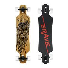 """Longboard Skateboard Drop 41"""" inch Skate Board Abec 11 Bamboo Complete Board"""