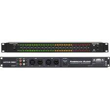 """AMERICAN AUDIO ACTIVE DBM misuratore di livello sonoro led rack 19"""" NUOVO ITALIA"""