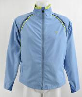 PEARL IZUMI Women`s Cycling Jacket Lightweight Zip Neck Blue Coat Size M