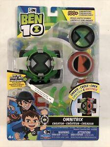 BEN 10 Deluxe Omnitrix Antitrix Creator Watch Playmates w/ Battery Tab In Tact